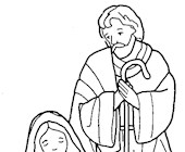 bible coloring coloring page