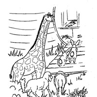 noahs ark coloring page coloring page