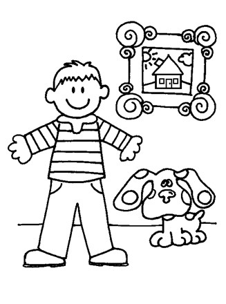 Blues Clues Pictures, Clipart & Posters   440x327