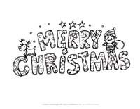 merry christmas coloring page all kids network