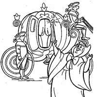pumpkin carraige coloring page