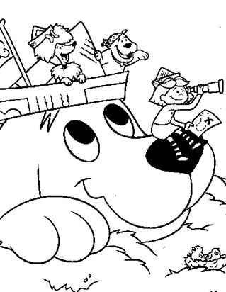 Clifford Coloring Pages - Print Clifford Pictures to Color | All ...