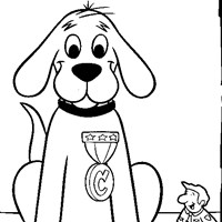 clifford prize coloring page