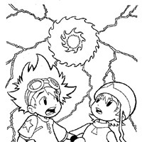 digimon10a coloring page