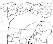 baby daisy duck 10a coloring page