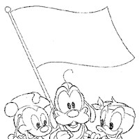 disney babies 2a coloring page