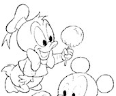 disney baby 9a coloring page