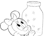 disney ladybug 17a coloring page