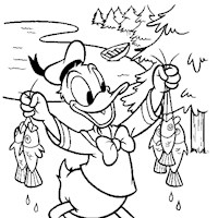 donald duck coloring pages 1a coloring page