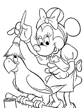mickey coloring sheet 19a coloring page