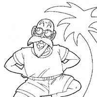 dballz9a coloring page