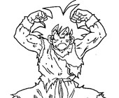 dbz1a coloring page