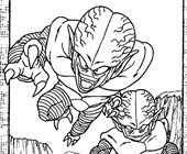 dbz2a coloring page