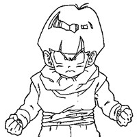 dbz3a coloring page