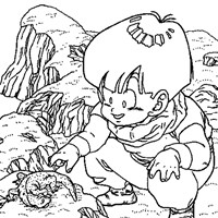 dbz4a coloring page
