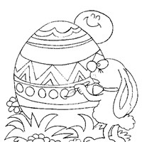 easter coloring page coloring page