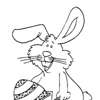 easter printable coloring page