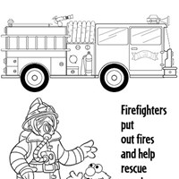 elmo firerescue coloring page