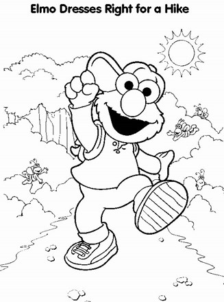 Elmo Easter Coloring Pages To Print | coloring pages | Easter ... | 440x327