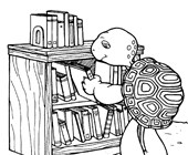 franklin the turtle books coloring page