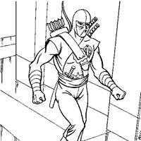 gi joe cobra coloring page