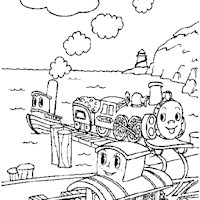 golden book stories train coloring page