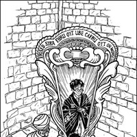 harry potter 11 coloring page
