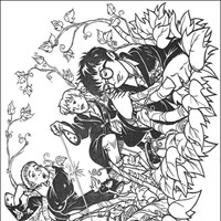 harry potter 3 coloring page