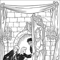 harry potter 6 coloring page
