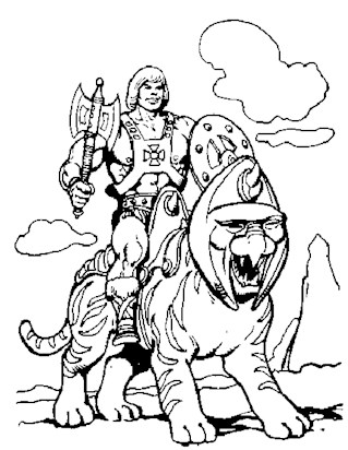 He Man Coloring Pages Print He Man Pictures to Color All Kids