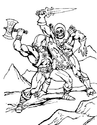 he man coloring pages print he man pictures to color all kids network