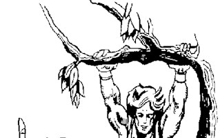 he man swinging coloring page