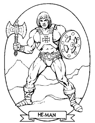 he man coloring pages He Man Coloring Pages   Print He Man Pictures to Color | All Kids  he man coloring pages