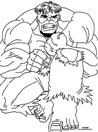 Hulk #69 (Superheroes) – Printable coloring pages | 440x327