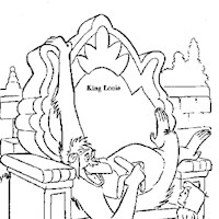 king louie coloring page