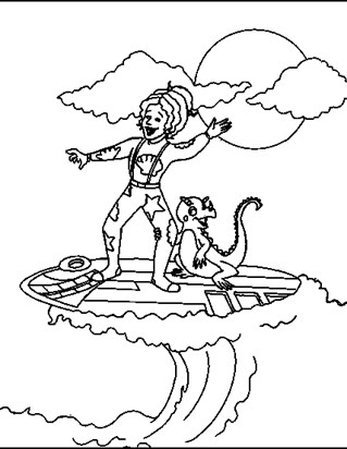 Magic School Bus Coloring Pages | All Kids Network
