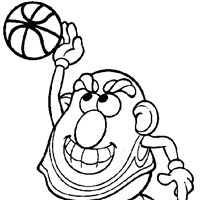 Mr. Potatohead Coloring Pages   All Kids Network