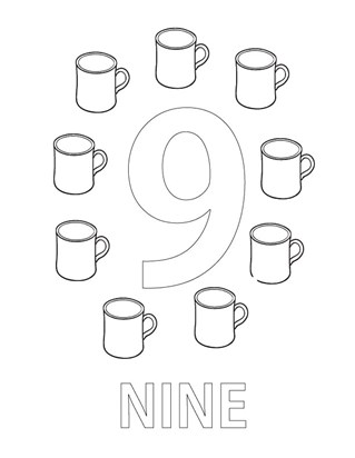 Numbers Coloring Pages - Print Numbers Pictures to Color | All Kids ...