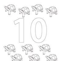 Numbers Coloring Pages Print Numbers Pictures to Color All
