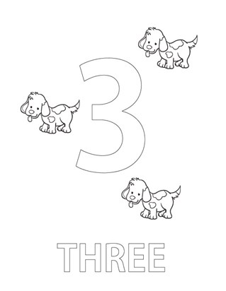 numbers coloring pages print numbers pictures to color all kids network