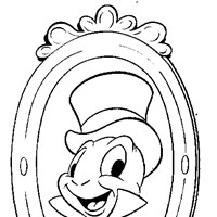 jiminy cricket coloring page