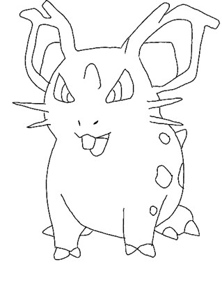 pokemon 17a coloring page
