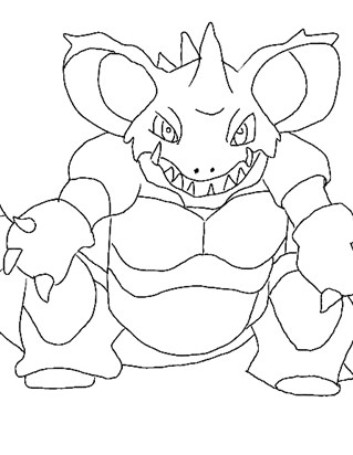 pokemon 18a coloring page