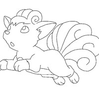 pokemon 19a coloring page