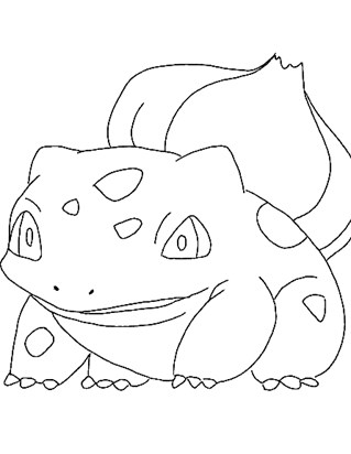 pokemon 1a coloring page