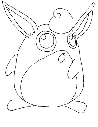 pokemon 24a coloring page