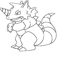 pokemon 34a coloring page