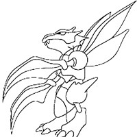 pokemon 44a coloring page