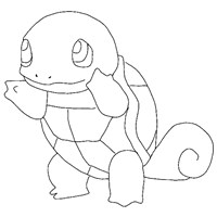 pokemon 4a coloring page
