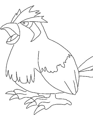pokemon 6a coloring page